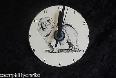 Chow Chow CD Clock by Curiosity Crafts