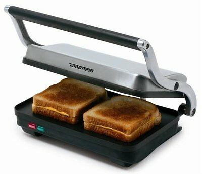 Toastess Sandwich Grill, Stainless Steel