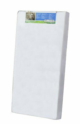 Dream On Me 4-Inch Full Size Foam Crib and Toddler Bed Mattress, White