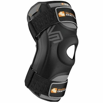 Shock Doctor 870 Knee Support Flexible Knee Stays Brace Sleeve MCL ACL Injury