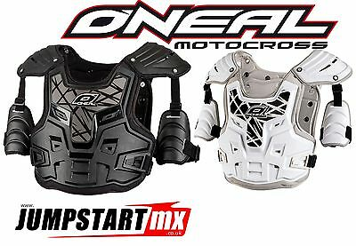 Oneal PXR Motocross Body Armour Chest Protector Black or White