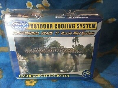 NEW Misty Mate MistyMate Professional Grade Cool Patio 17 Outdoor Cooling System