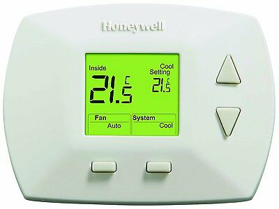 Honeywell RTH5100B1033/A 1025 Deluxe Manual Thermostat (White)