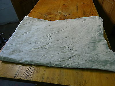 Antique European Linen, Hemp,Flax Homespun Linen Sheet 64'' x 48'' #7611
