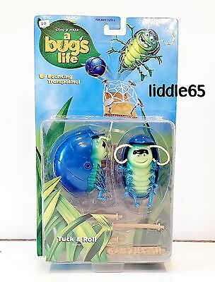 Tuck and Roll 1998 A Bug's Life PVC Action Figure Mattel Pixar NIP Bug Circus
