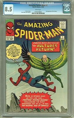 Amazing Spider-Man #7- CGC Graded 8.5