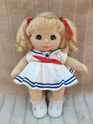My Child Doll Blonde Ringlet Pony Brown Charcoal
