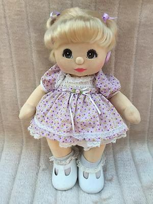 My Child Doll Blonde DR Brown Charcoal