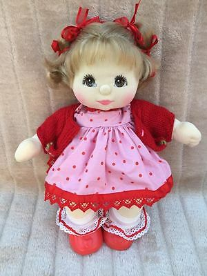 My Child Doll Ash Blonde US DR Brown Charcoal