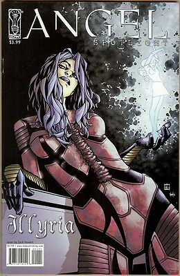 Angel Spotlight: Illyria nn - VF - Howard Cover