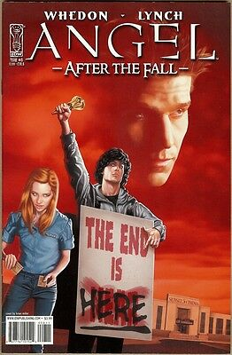 Angel: After The Fall #8 - VF - Miller Cover