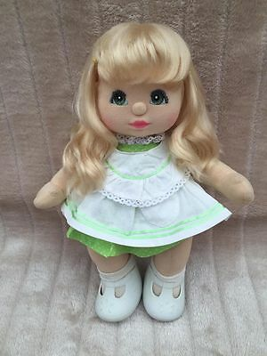 My Child Doll Blonde VPart Green Charcoal