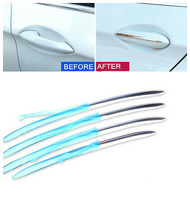 For BMW 7 Series F01 2010- 2015 Stainless Side Door Handle Decorative Cover Trim