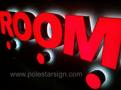 Customized 3D Led Lighting Sign Letters Business Logos Signage Channel Letters