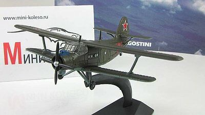 1:145 An-2 Legendary Planes Aircrafts of USSR Russian Diecast Deagostini