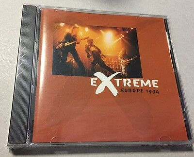 EXTREME - EUROPE 1994 - CD LIVE in DONNINGTON JUNE '94  NO CDr RARO SEALED MINT