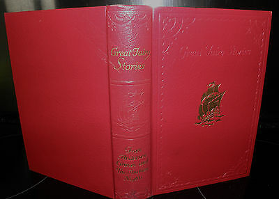 ** great fairy stories 1930's vintage book collectible illustrated, hardback