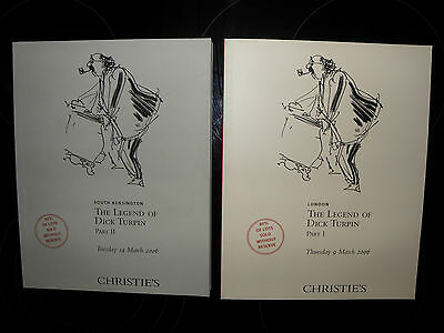**Christies catalogue - the legend of dick turpin part 1&2, collectors, vintage