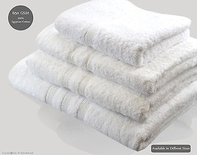 Lifestyle Face Towels 100% Egyptian Cotton 650gsm Hotel Collection Pack of 12