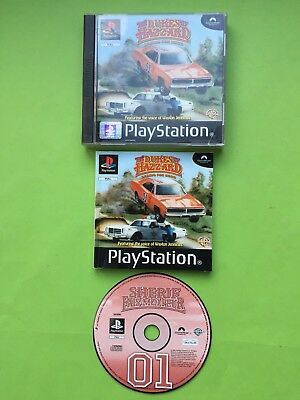 The Dukes Of Hazzard Racing For Home PS1 Game + Works On PS2 & PS3