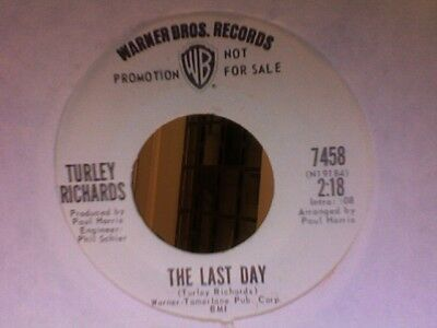 Turley Richards-'the Last Day' On Warner Bros Promo