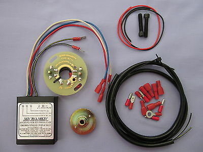 60 Bsa Triumph Single Twin Dynamo 6V Boyer Bransden Electronic Ignition Kit ***