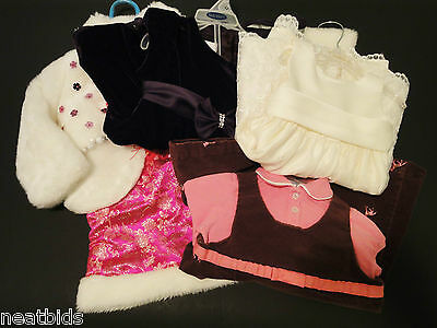 Lot of 4 High Quality Preowned Pretty Girls Dresses/ Set 24M, 2T, 3T