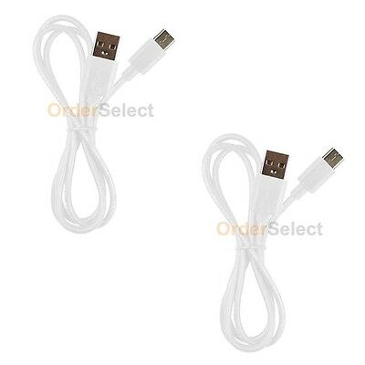 2 NEW USB Type C Cable for ZTE Axon 7 Mini / Grand X X3/Imperial Max 2/Zmax Pro
