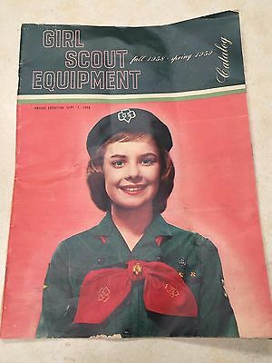 1958 Girl Scout Equipment Catalog