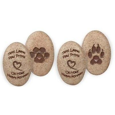 AngelStar Paw Prints Stones 48 Piece Assorted Refill