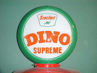 Sinclair Dino Supreme Gas Pump Globe