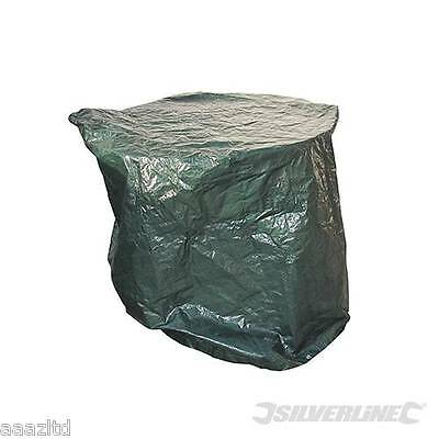 GARDEN PATIO FURNITURE TABLE COVER LARGE ROUND WATERPROOF SHELTER 1250 x 810mm