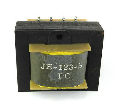 Used Jensen JE-123-SPC PC Mount Quadfilar 600 Ohm Line Output Transformer. TR
