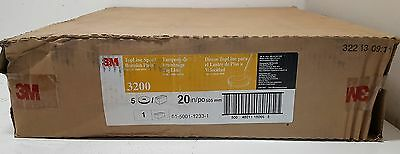 "New 3M 5000 Ultra High Speed Topline Special Burnish Pads 20""  CASE OF 5"