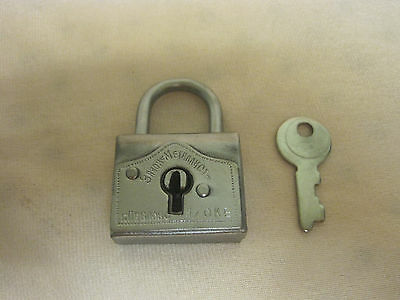 Padlock with Key. Russia 20 th century