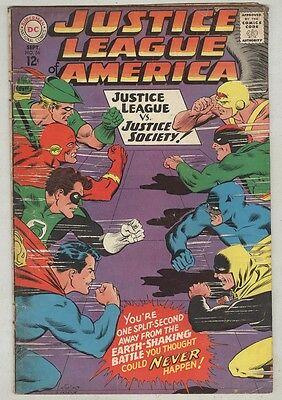 Justice League of America #56 September 1967 VG