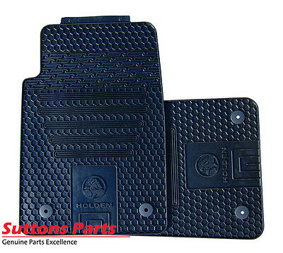 New Genuine Holden Commodore Ve Rubber Mat Set (2) Front Part 92292695