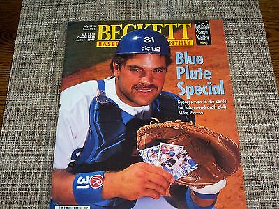 Beckett Baseball Card Monthly - mike piazza                             2306