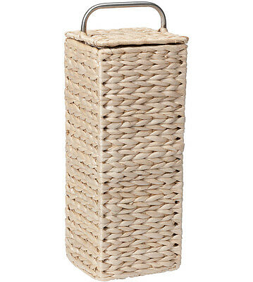 Wicker Toilet Paper Holder - Natural
