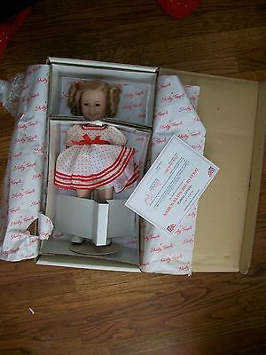 "Danbury Mint Shirley Temple ""Stand Up and Cheer"" Doll 14"""