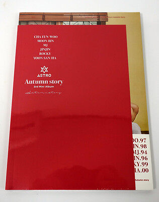 ASTRO - Autumn story [Red Ver.] CD+Photobook+Photocard+Limited 6 Posters