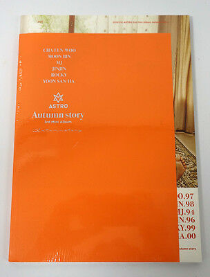 ASTRO - Autumn story [Orange Ver.] CD+Photobook+Photocard+Limited 6 Posters