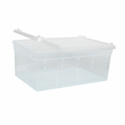 10x Aquatic Reptile Breeding Box Transport Case Terrarium Feeding Tank H1