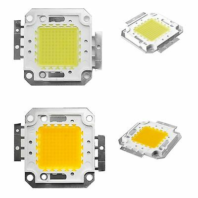 NEW 100W Cool / Warm White High Power LED Panel Chip 9000LM 100 Watt Lamp Light