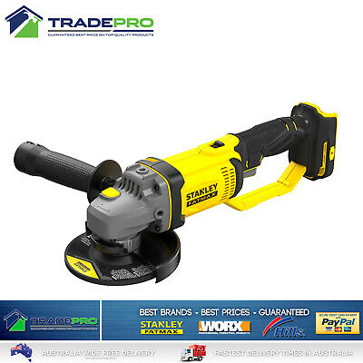 Stanley Fatmax® 18v Cordless 125mm Angle Grinder Genuine FMC791B-XE Tool Only