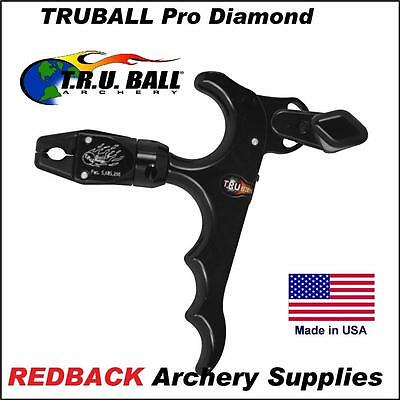 Truball Pro Diamond Release Aid BLACK for archery hunting compound bow