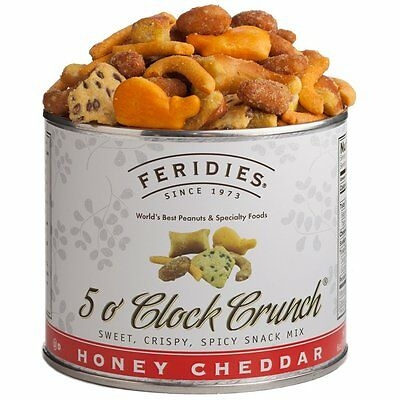Feridies 5 O Clock Crunch Snack Mix, 6 Ounce