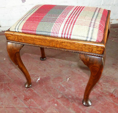 Vintage Queen Anne Style Stool