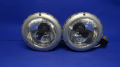Highway Hawk 68-223380 Scheinwerfer Headlight Aluminum satin Spotlight 3 ½' 90mm