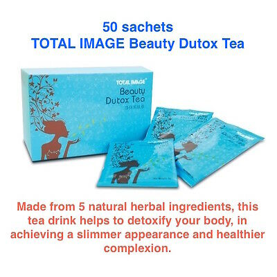 Beauty Dutox Tea Healthy Natural Herbal Weight Loss Detox Body Cleansing 50s